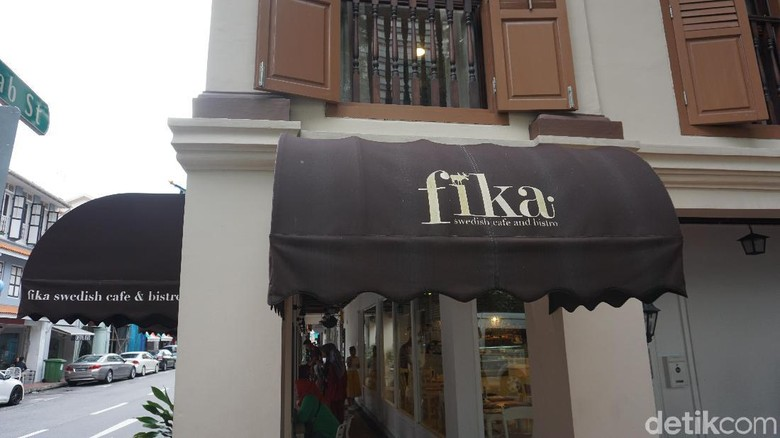 Fika Cafe di Singapura (Shinta/detikTravel)