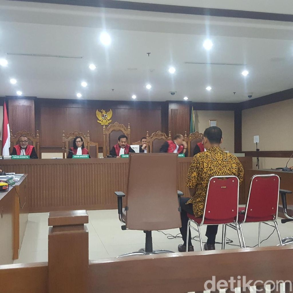 Eks Kadis Lampung Tengah Divonis 2 Tahun Penjara
