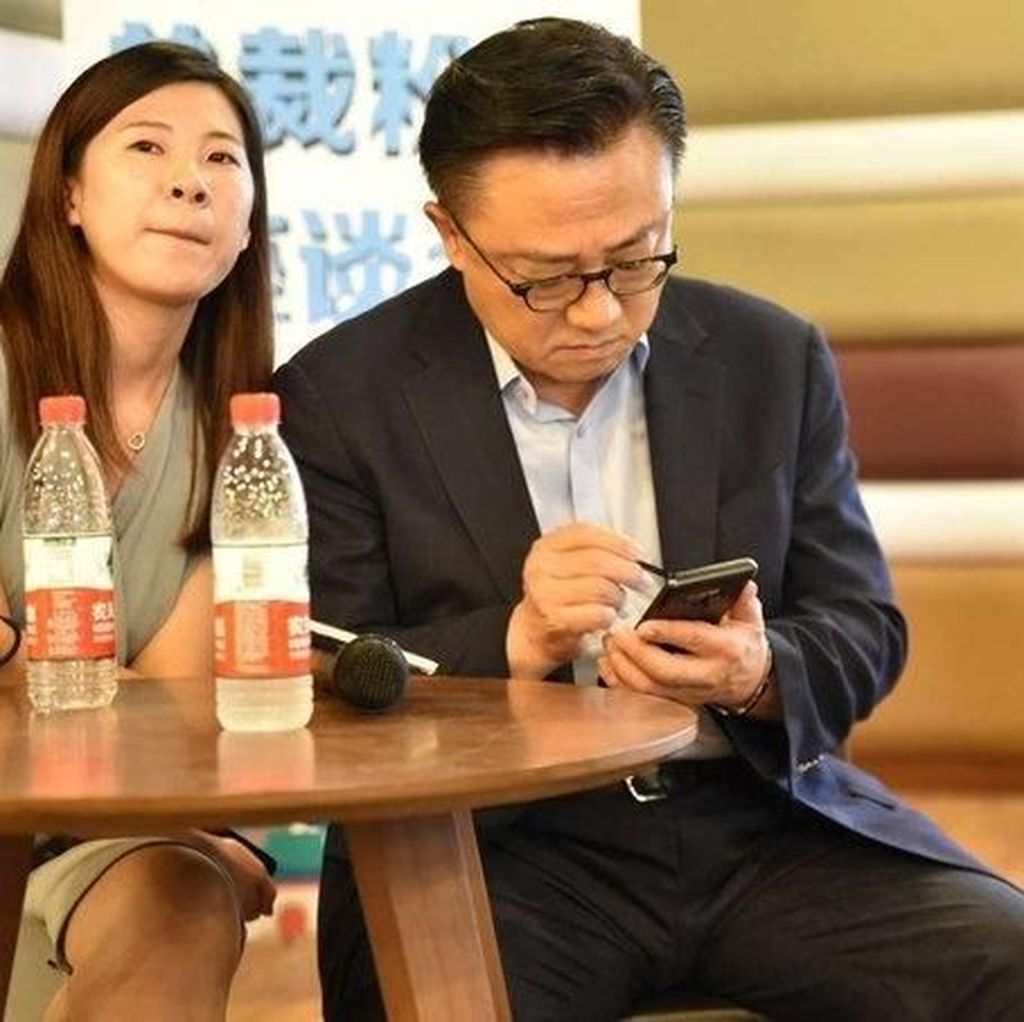 Bos Samsung Kepergok Pakai Galaxy Note 9