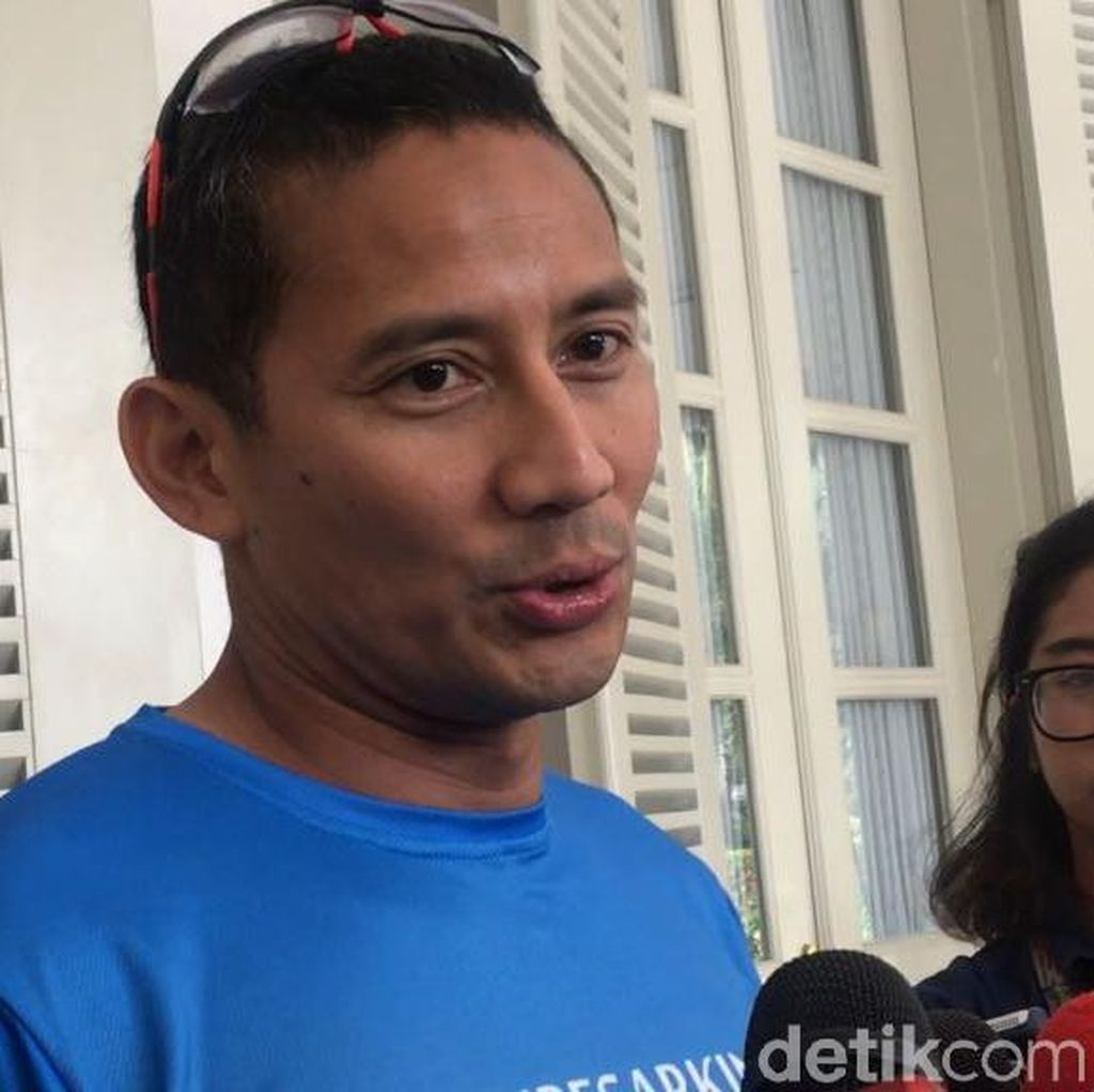 Sandiaga: Demam Asian Games Sudah Pol, Sudah Mentok