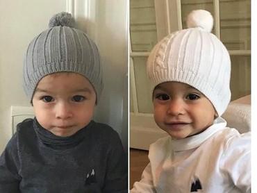 Perkenalkan ini Zayn and Madi, Bun. Umur anak kembar ini sekarang dua tahun. (Foto: Instagram @Sidonie Biemont).