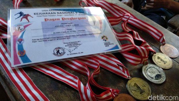 Medali prestasi Andika