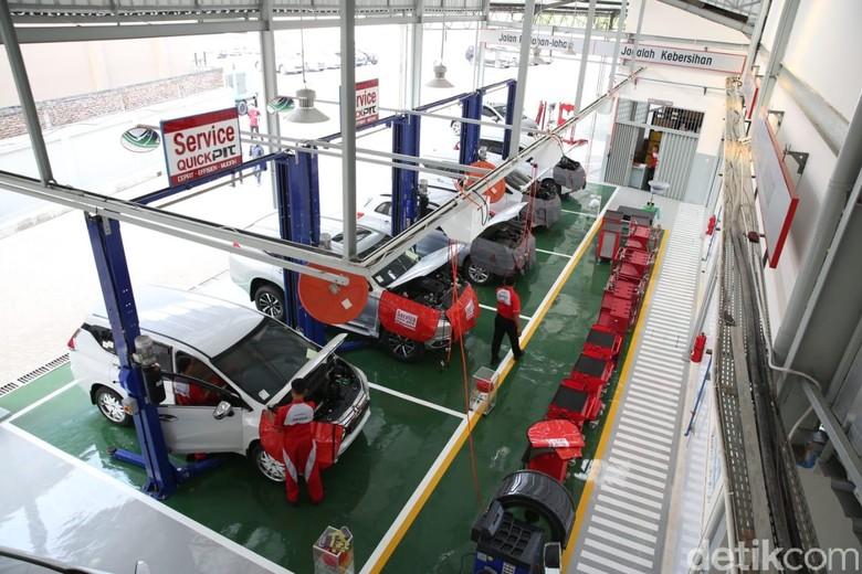 Bengkel mobil. Foto: Mitsubishi