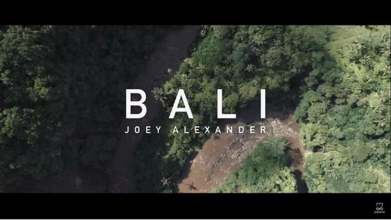 Videoklip terbaru Joey Alexander tentang Bali (Joey Alexander/Youtube)
