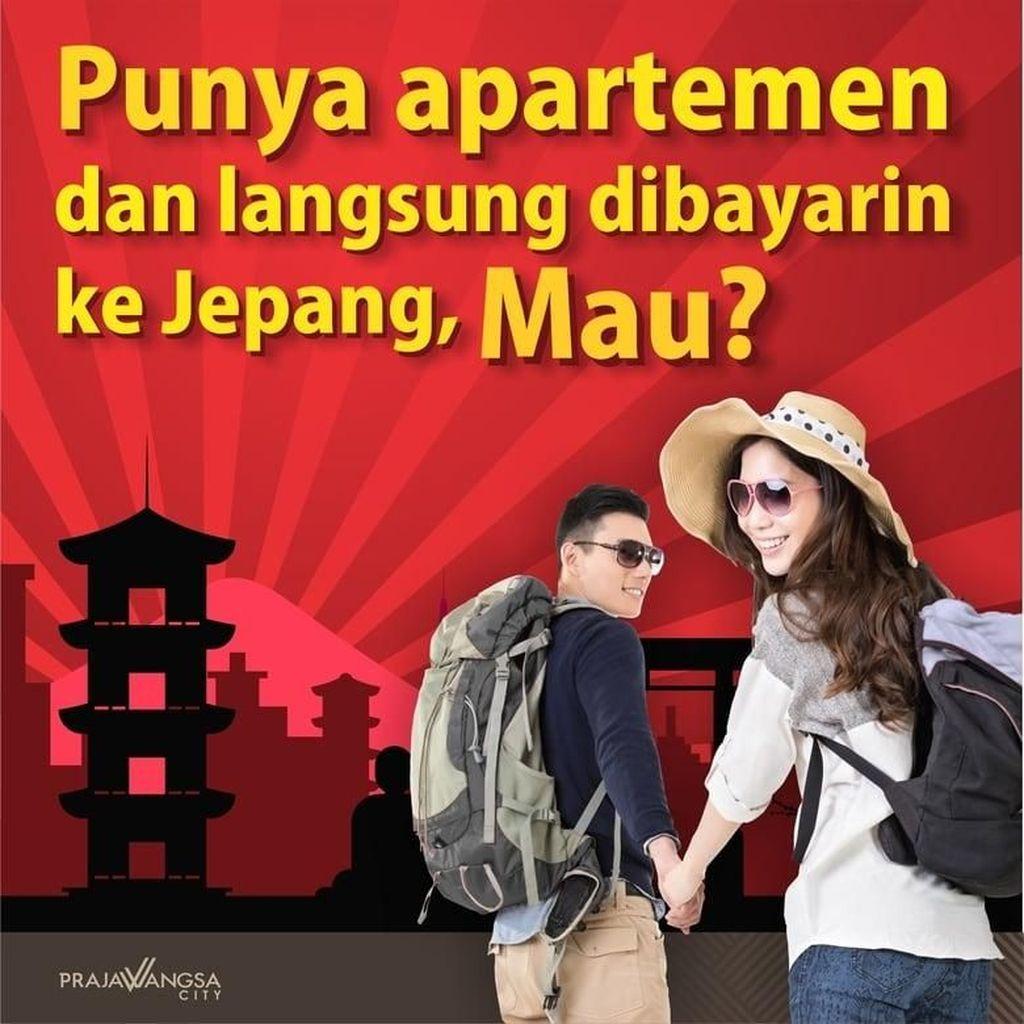 Punya Apartemen dan Langsung Dibayarin ke Jepang, Mau?