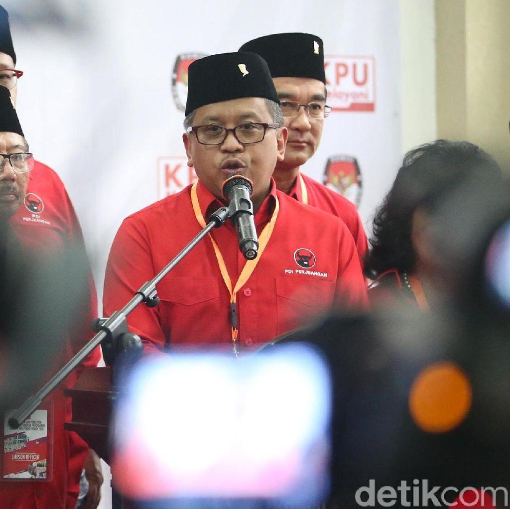 PDIP: Dari 7 Menteri, Cuma Yasonna-Puan yang Direstui Jokowi Nyaleg