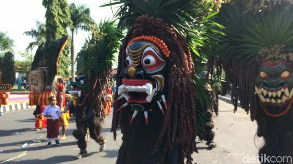 Hut ke-376, Pemkab Ciamis Gelar Galuh Etnic Carnival Pertama