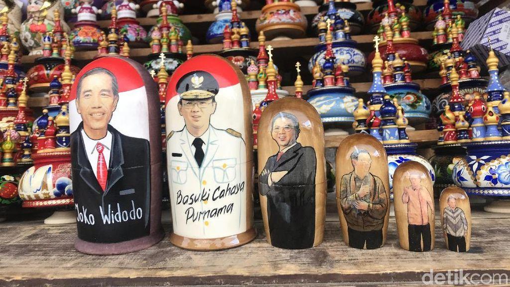 Ada Boneka Matryoshka Jokowi dan Ahok di Moskow