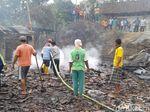 2 Titik Kebakaran di Rembang, 4 Rumah Ludes Terbakar