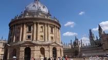 Melihat Radcliffe Camera, Bangunan Ikonik di Kota Pendidikannya Inggris