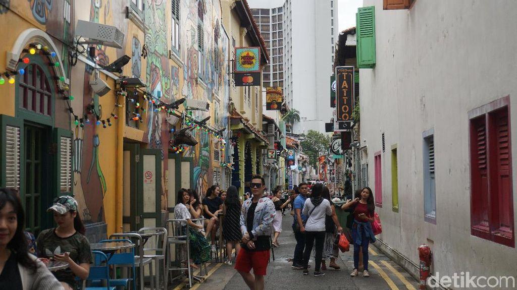 Singapura yang Ingin Makin Banyak Gaet Turis Milenial
