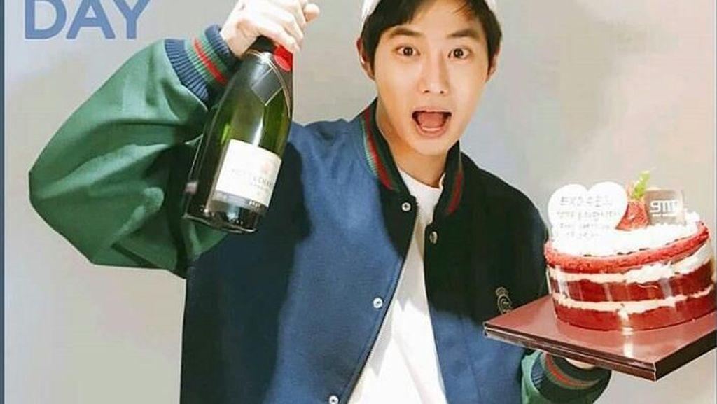 Gaya Makan Teman Dekat Agnez Mo yang Baru hingga Suho EXO
