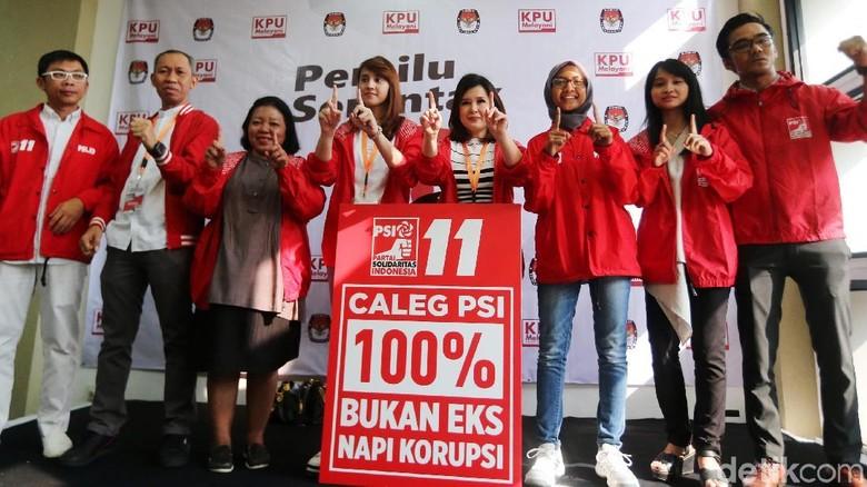 PSI Klaim 100% Bakal Calegnya Bersih dari Eks Koruptor