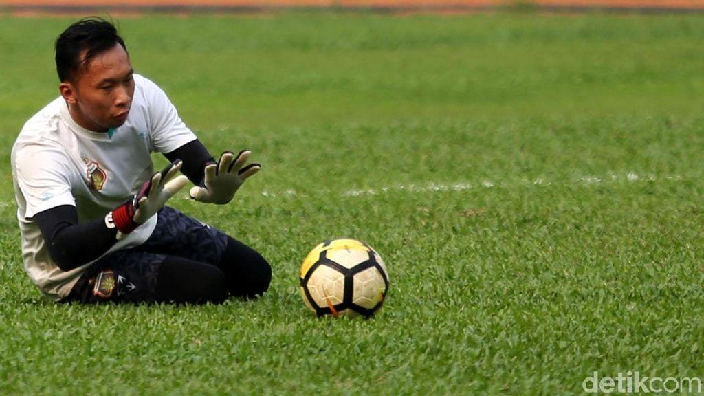 Kiper Bhayangkara Awan Setho Meretas Jalan ke Asian Games
