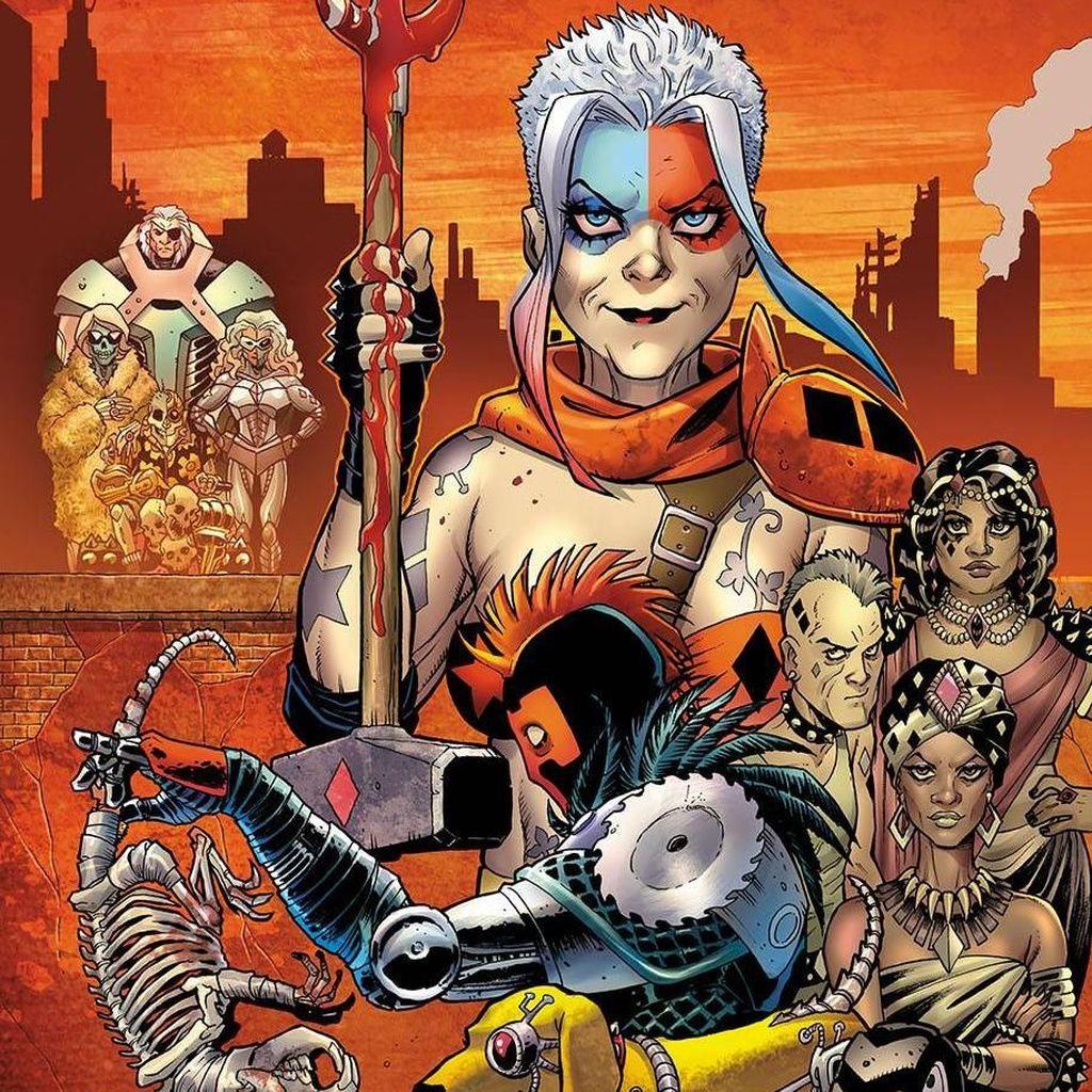 Cerita Pertarungan Harley Quinn Tua Ada di Komik Terbitan DC