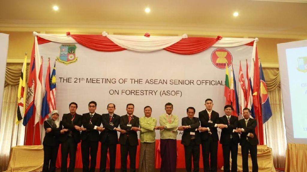 Bertemu Negara ASEAN, KLHK Komitmen Kelola Hutan Berkelanjutan
