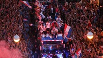 Pulang Kampung, Kroasia Disambut bak Pahlawan