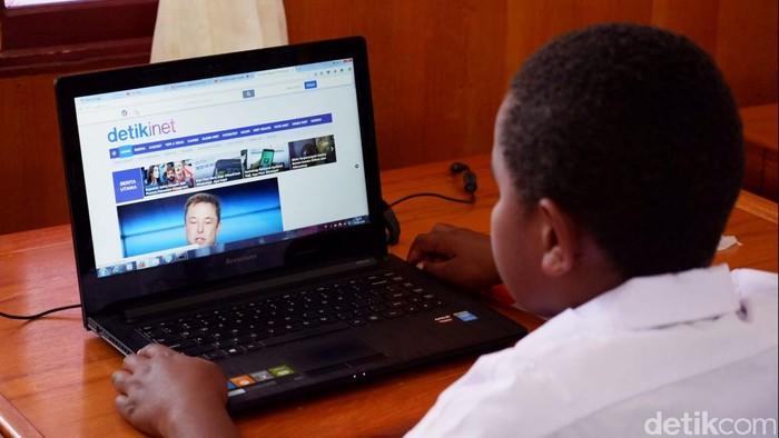 Ilustrasi internet menjangkau pelosok negeri. Foto: detikINET/Adi Fida Rahman