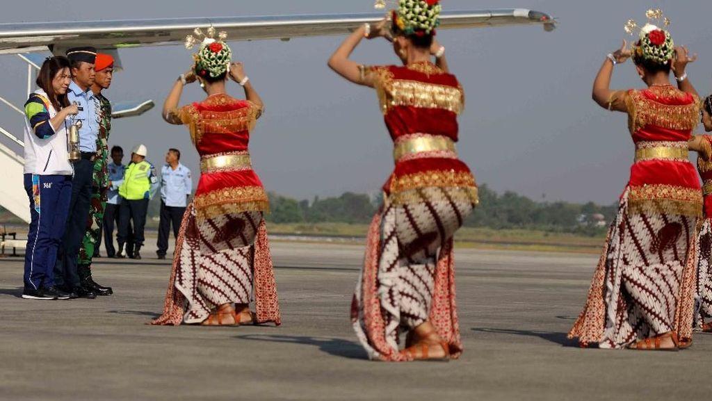 Cerita di Balik Perjalanan Api Asian Games dari India ke Yogyakarta