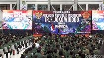 Saat Jokowi Cek Kenaikan Tunjangan 771% ke Babinsa
