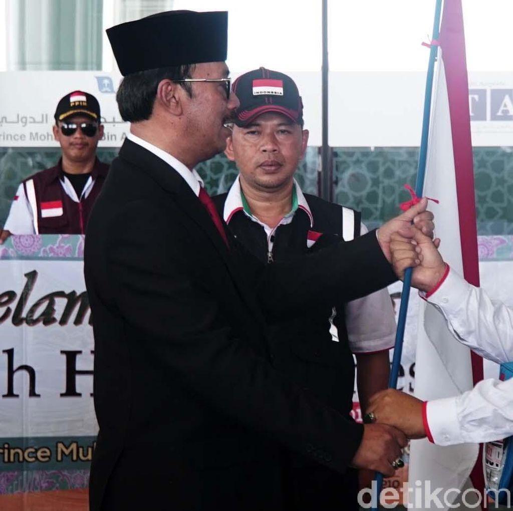 Jemaah Haji Asal Padang Tiba di Madinah