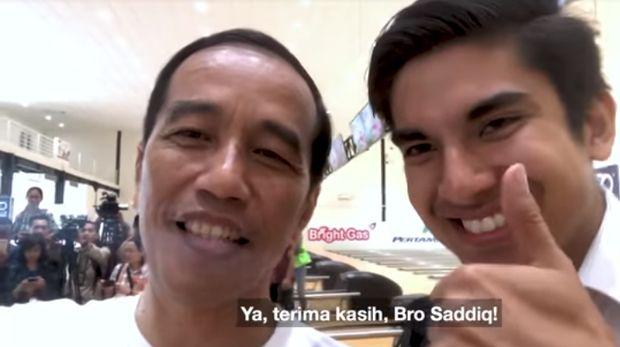 Diajak Jokowi Nge-Vlog, Menpora Ganteng Malaysia: Bapak Idola Saya