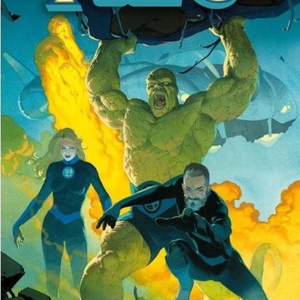 Komik Fantastic Four #1 Goda Pembaca dengan Keluarga yang Lebih Besar