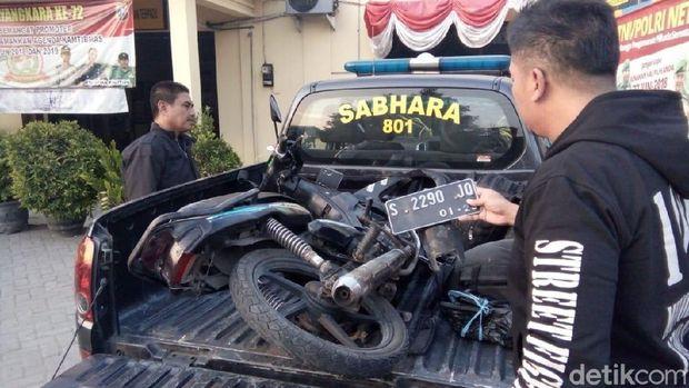 Diduga Kangen Ortu, ABG Ini Kecelakaan Saat Kabur dengan Motor Paman