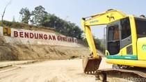 Pembangunan Bendungan Gondang Ditarget Rampung Oktober 2018