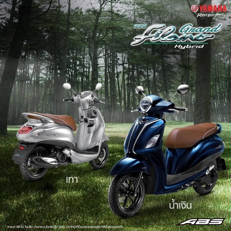 Yamaha Grand Filano Hybrid. Foto: Dok. Yamaha Thailand
