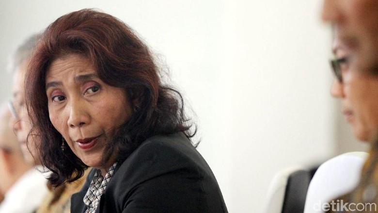 Menteri Susi Pudjiastuti/Foto: Grandyos Zafna