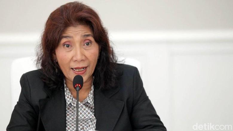Jawab Kelakar Reshuffle Prabowo, Susi: Kerugian itu Sebelum Jokowi