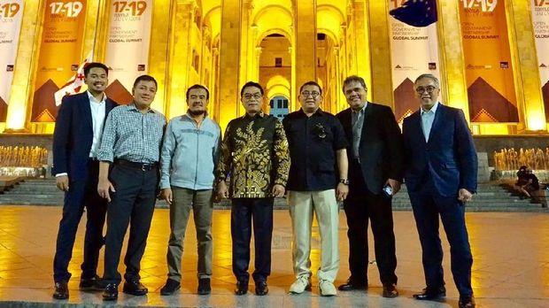 Delegasi Indonesia di KTT OGP.