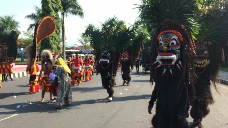 Galuh Etnic Carnival di Ciamis (Dadang Hermansyah/detikTravel)