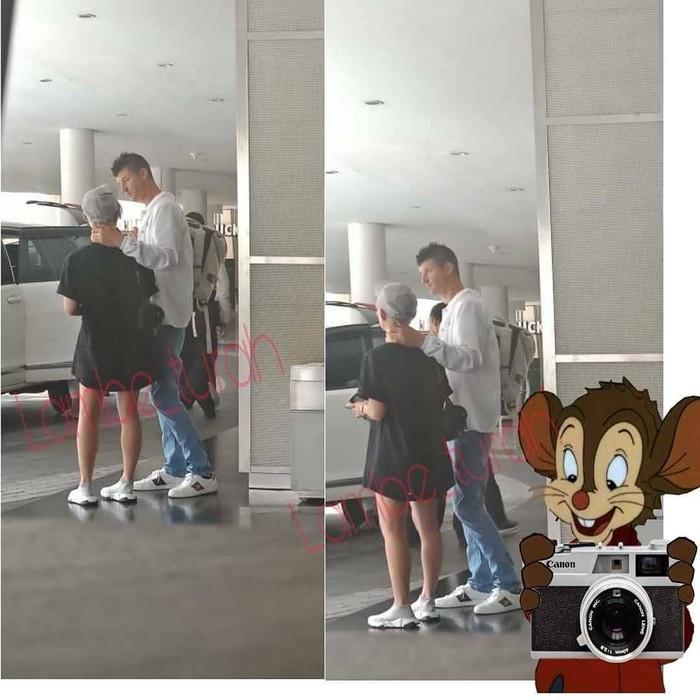 Nama Jeff Kopchia jadi perbincangan usai disinyalir menjadi kekasih dari penyanyi multitalenta Agnez Mo. Isu ini beredar usai akun gosip di Instagram membagikan foto Agnez yang baru saja datang ke Indonesia dengan didampingi seorang pria yang diyakini sebagai Jeff. (Foto: Instagram/lambe_turah)
