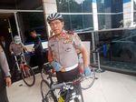 Bersepeda, Cara Kakorlantas Ajak Warga Kurangi Kendaraan Pribadi