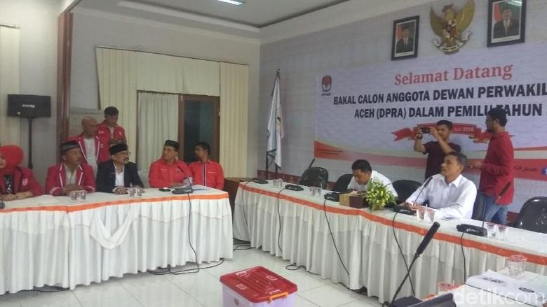 Partai Aceh Daftarkan 93 Bacaleg DPR Aceh ke KIP