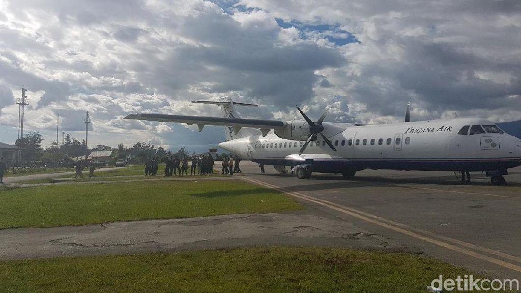 Cegah Teror di Bandara-bandara Papua, AirNav Gandeng TNI AU