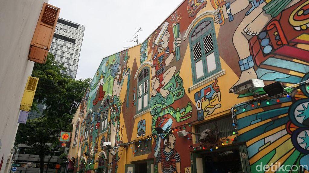 Mural-mural Seni di Singapura, Keren Buat Foto Instagram