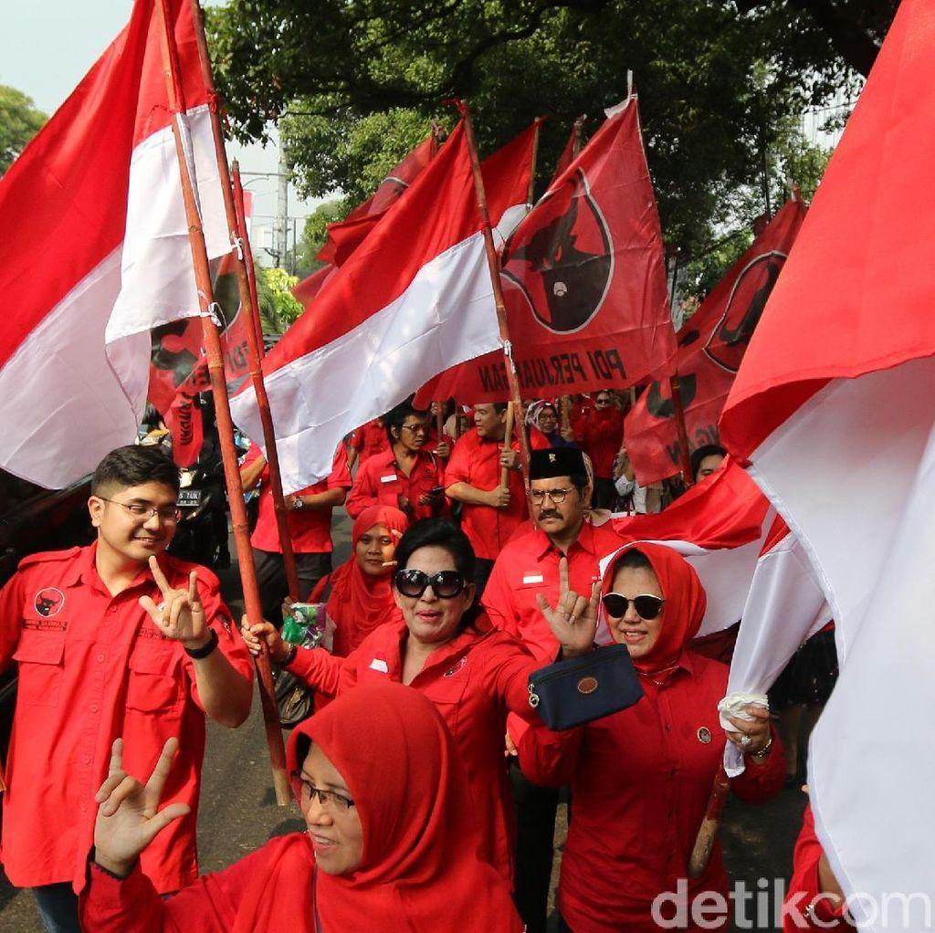 Pos Pertempuran Prabowo Dekat Rumah Jokowi, PDIP: Nggak Ngaruh!