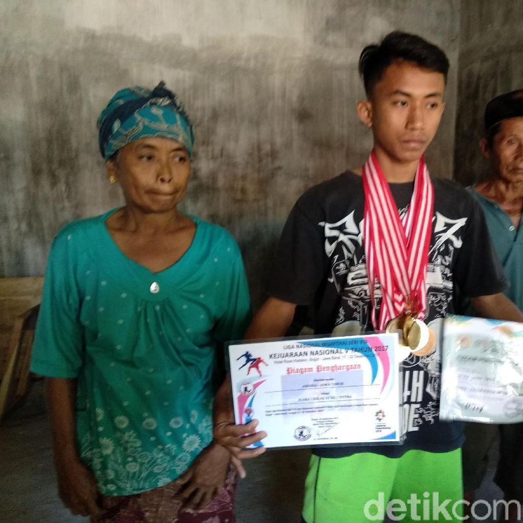 Seperti Zohri, Atlet Remaja Ini Juga Sederhana Tapi Juara