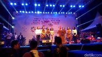7 Puteri Indonesia Hadiri Syukuran Obor Asian Games di Grobogan