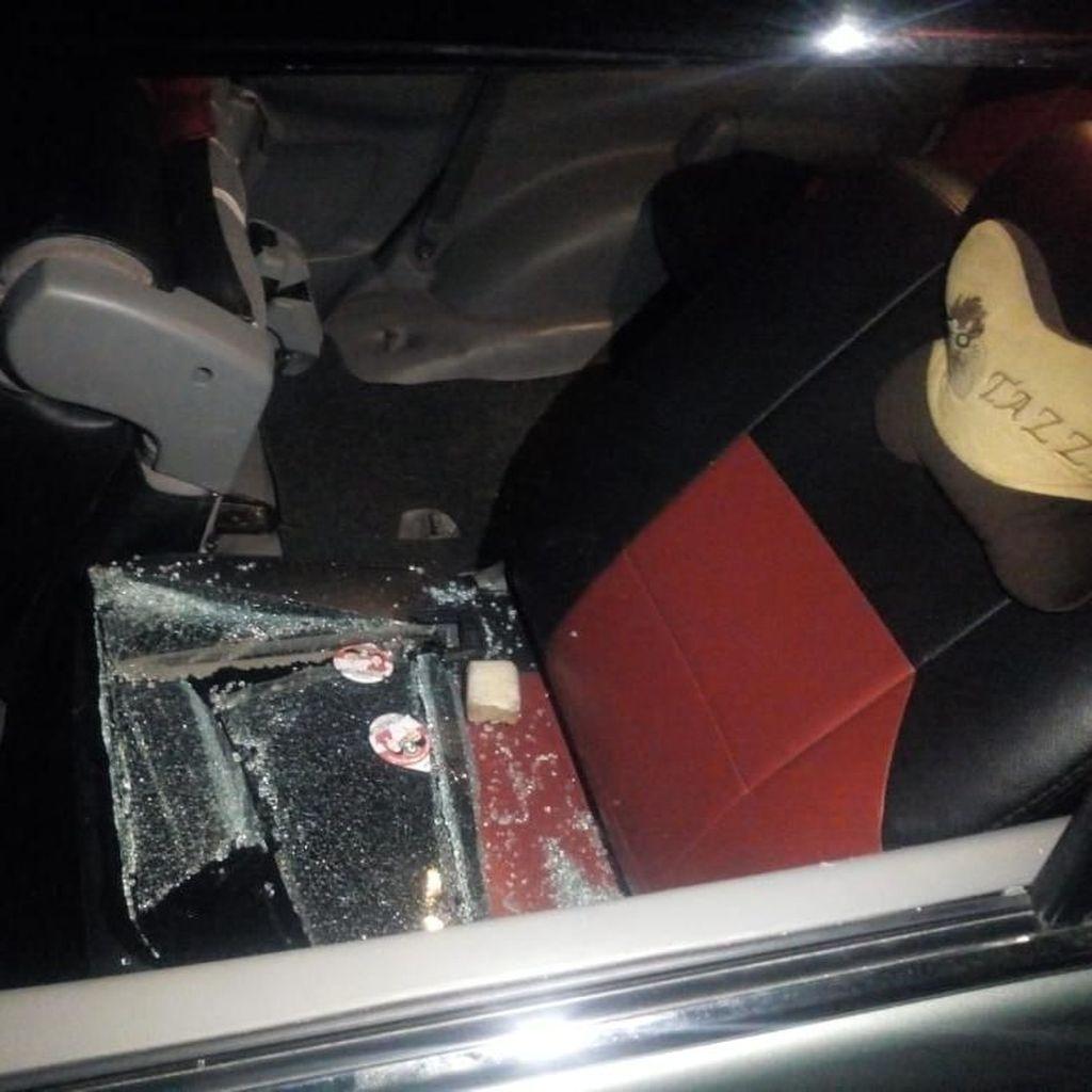 Mobil Caleg Jadi Korban Pecah Kaca, Dipecah Saat Daftar ke KPU
