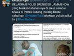 Polisi Usut Penyebar Berita Tahanan di Subang Tewas Dianiaya Anggota