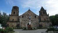 Inilah gereja yang menjadi destinasi favorit bila berkunjung ke Kota Iloilo, Filipina (Syanti/detikTravel)