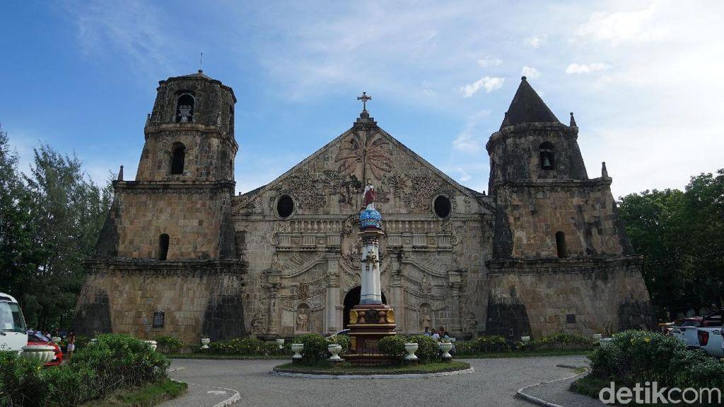 Gereja Situs UNESCO Kebanggaan Warga Filipina