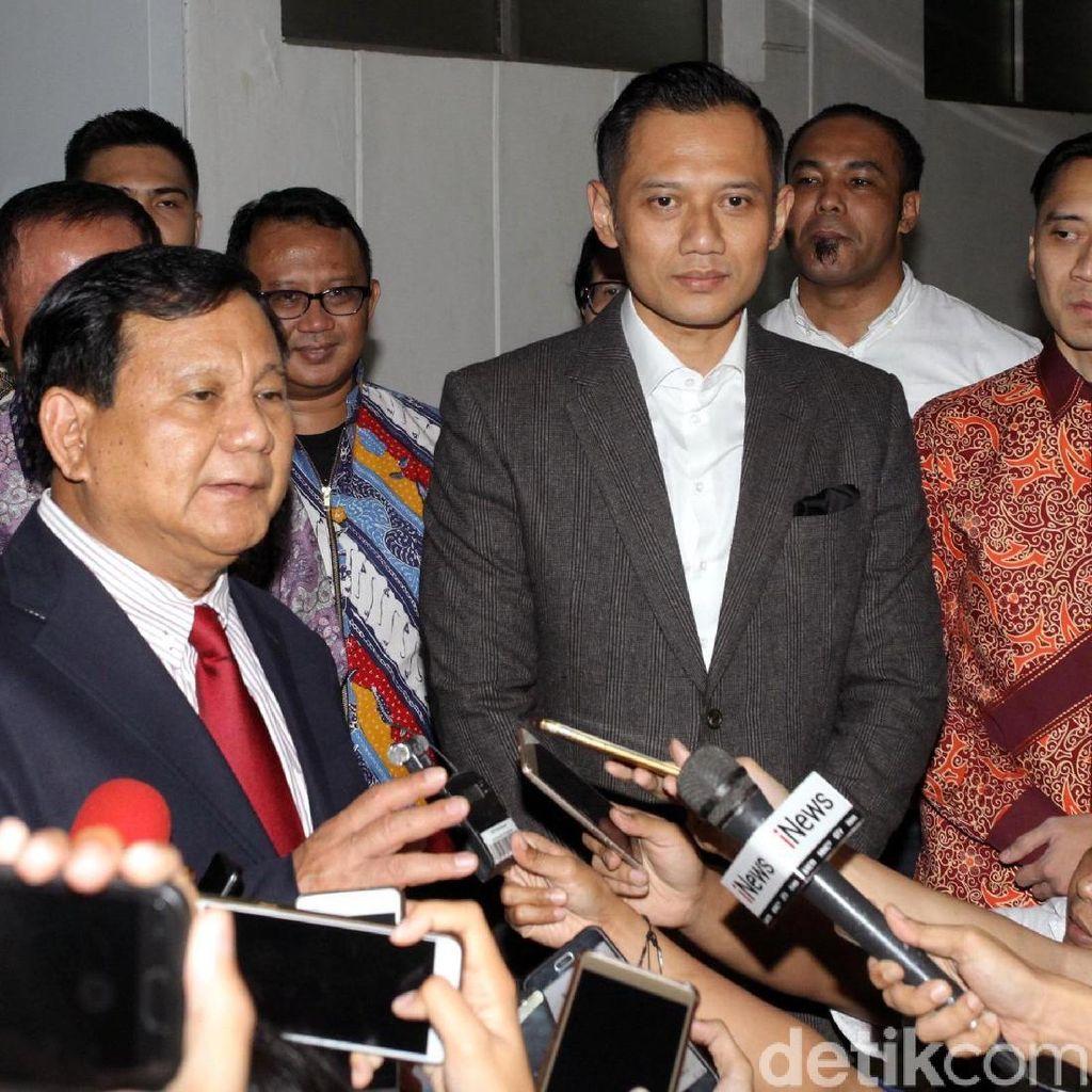 AHY Ungkap Isi Pertemuan Prabowo-SBY di RSPAD