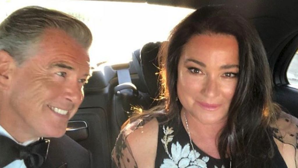 Potret Romantis Eks Pemeran James Bond Pierce Brosnan dan Keely