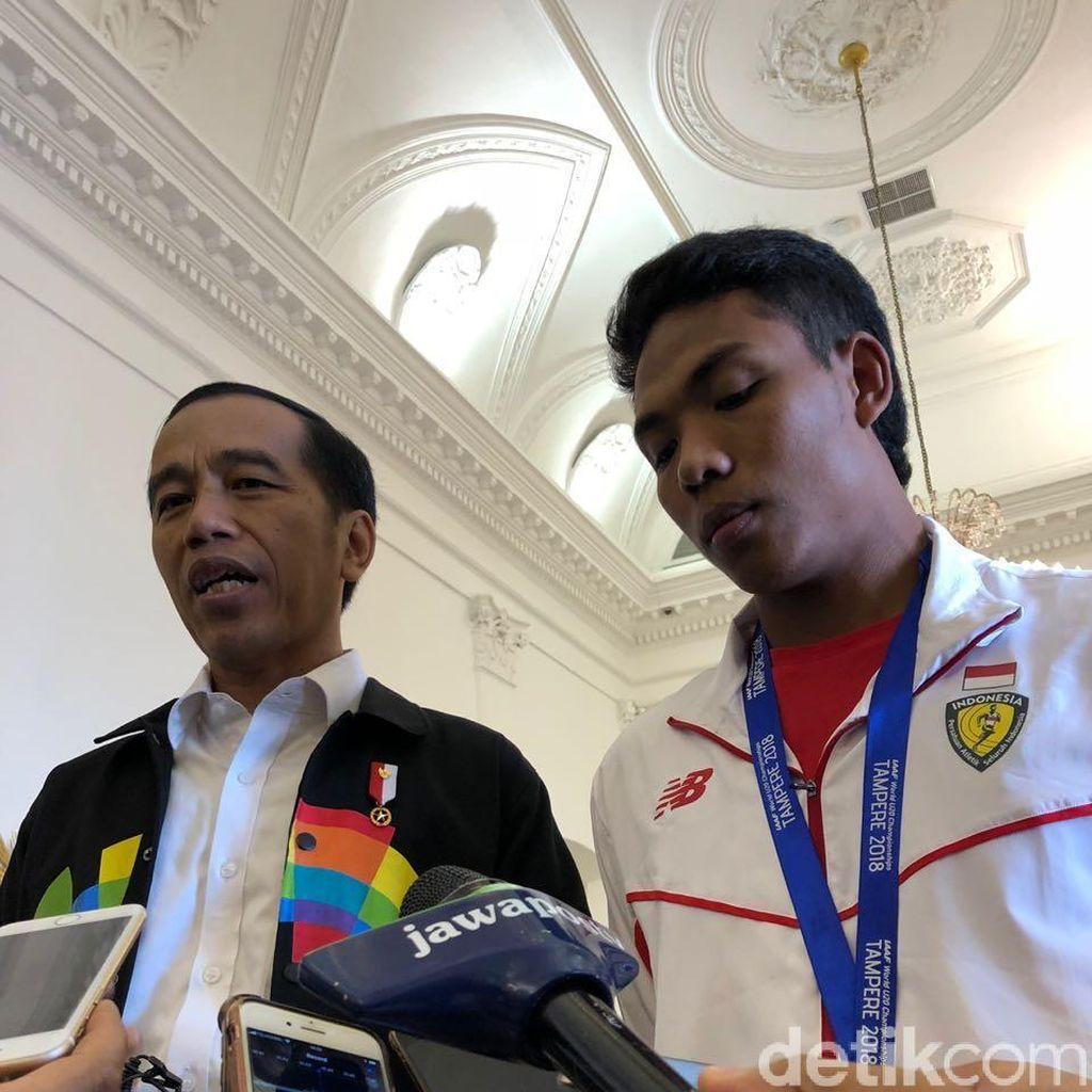 Jokowi: Renovasi Rumah Zohri Tinggal Pelaksanaan Saja