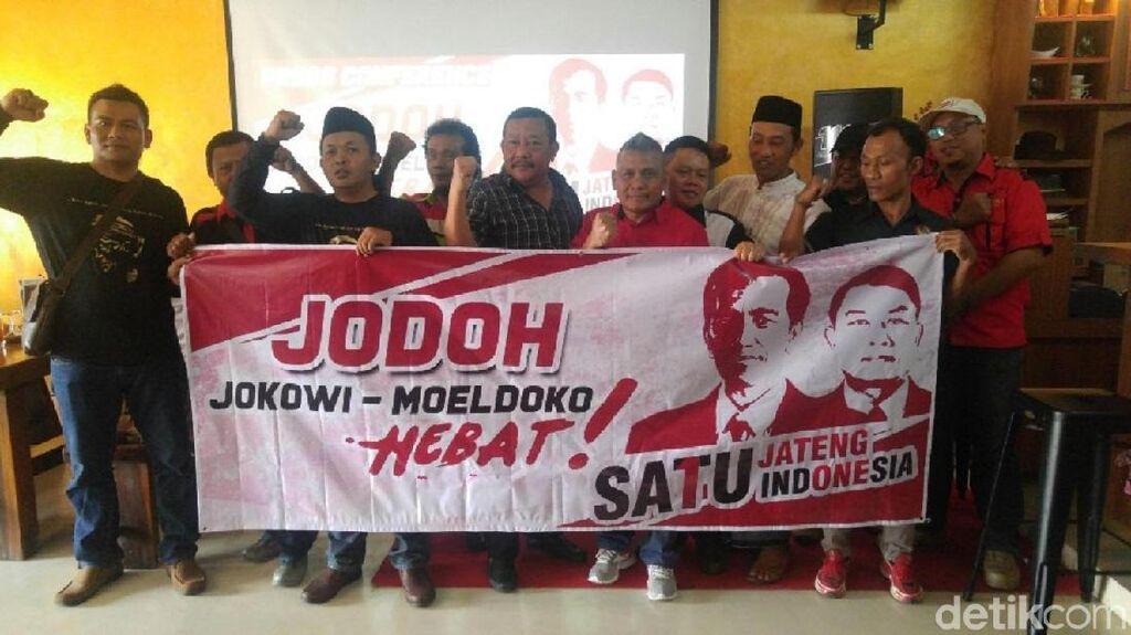 Pendukung Jokowi-Moeldoko di Semarang Janjikan 5 Juta Suara
